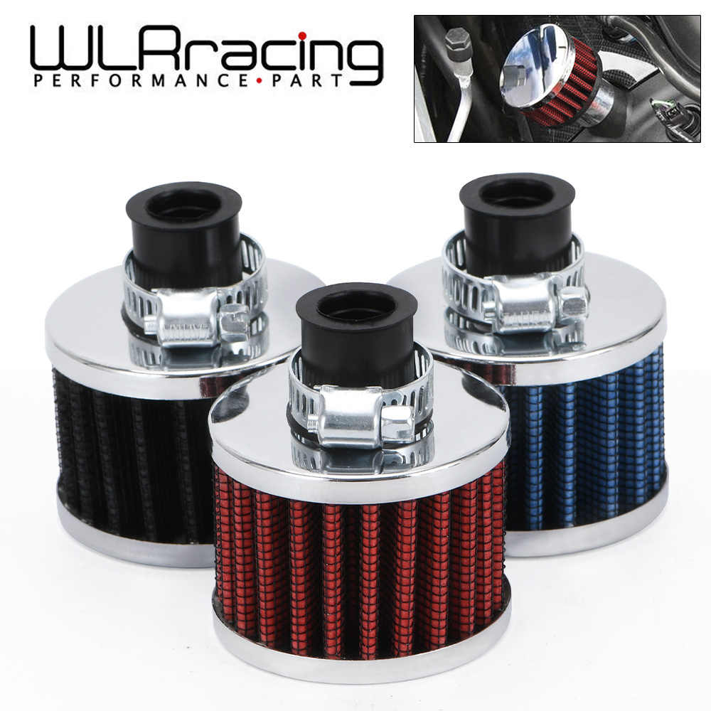 Wlr Racing-Universal Super Power Flow Luchtfilter 51*51*40 Hals: 12Mm Hoge Kwaliteit Auto Air Intake Filter Voor Auto WLR-AIT12
