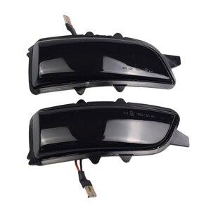 Image 4 - 2pcs Dynamic Blinker For Volvo V40 2013 2016 manual folding inverted mirror LED Turn Signal Mirror Light Flasher Arrow