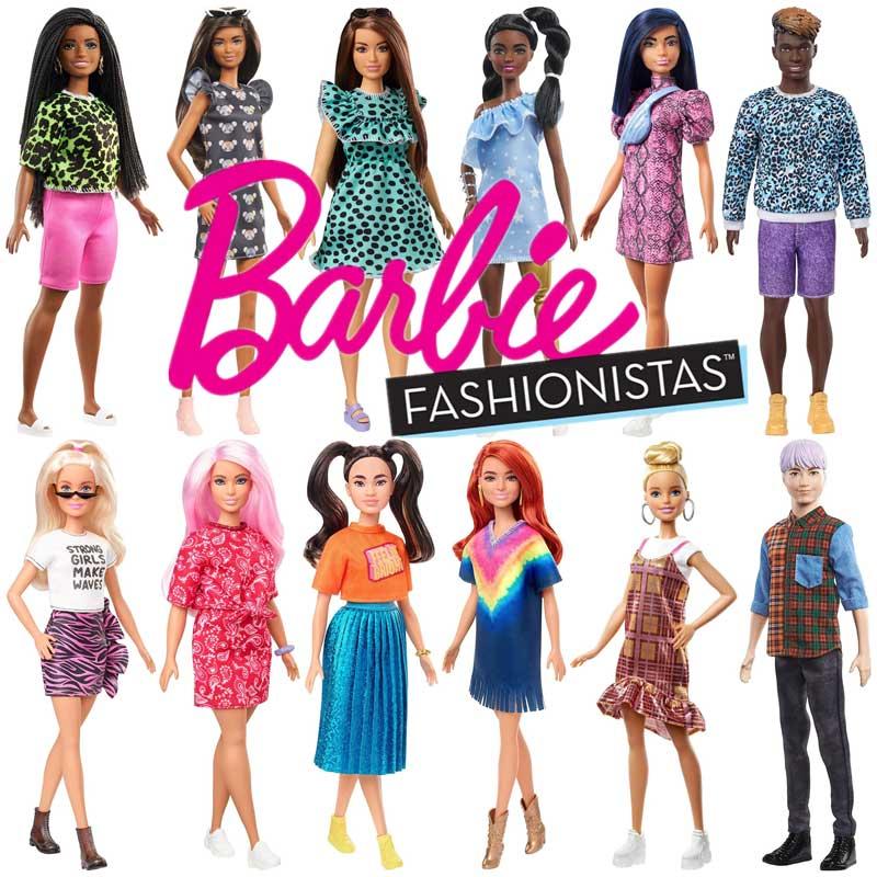 Barbie Fashionistas Original barbie puppen, original marke puppen für mädchen geburtstag geschenk für kinder, ein spaß kindheit GRB47