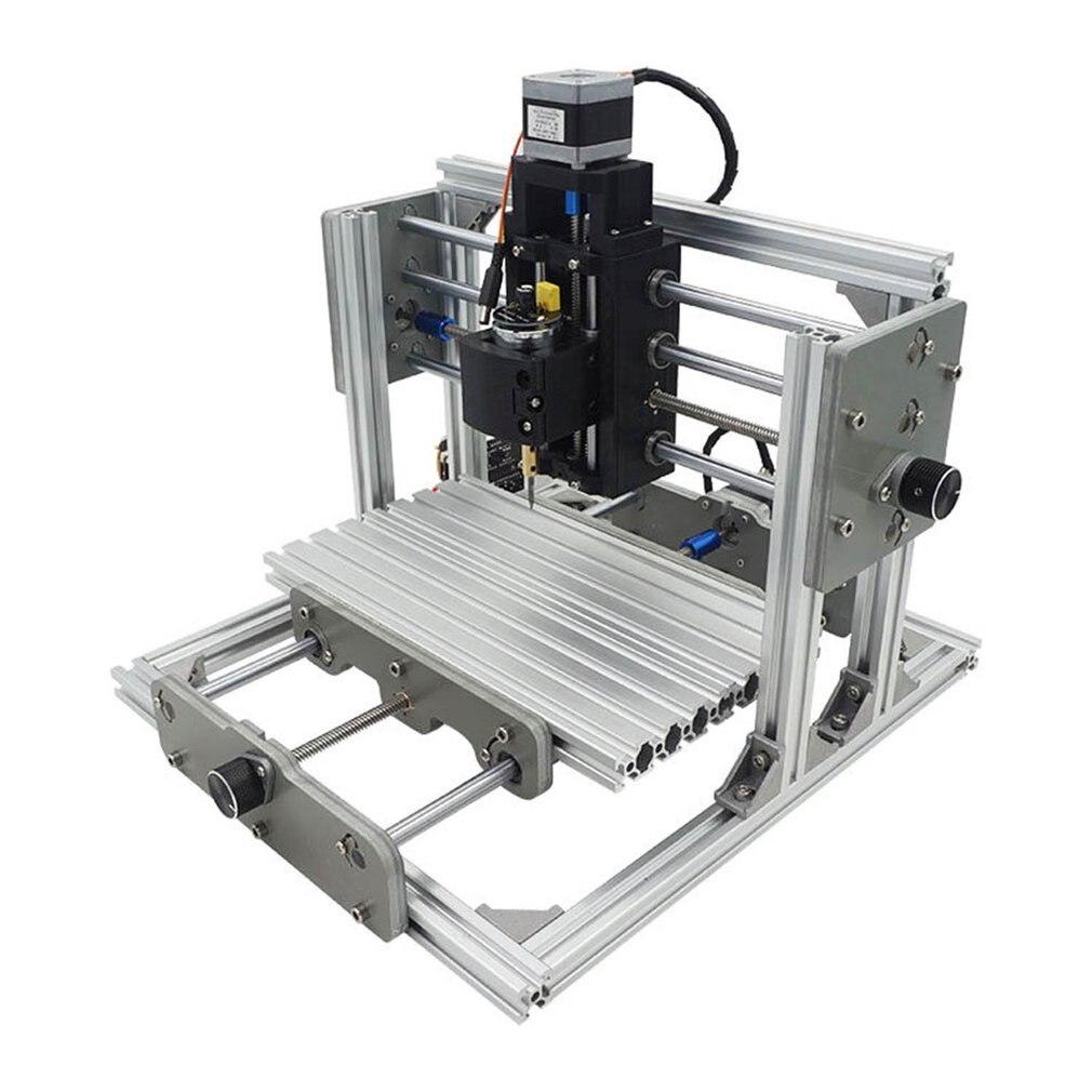 GRBL управление DIY CNC2417 мельница маршрутизатор комплект Настольный металлический гравер мини PCB фрезерный станок гравировка для металла дере