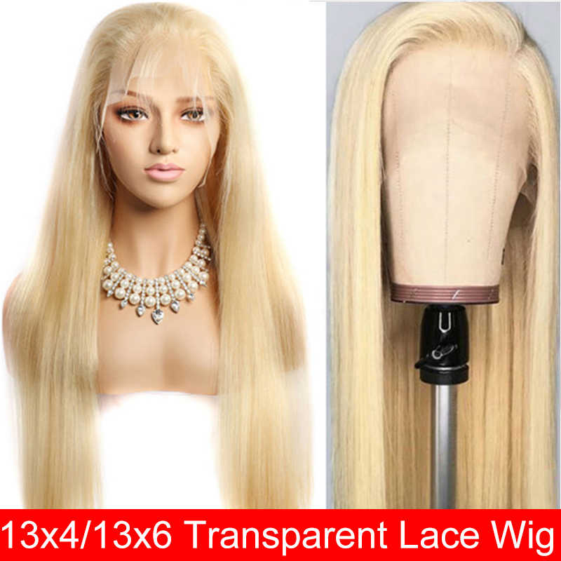 Perruque Lace Frontal Wig 613 naturelle-Maxine | Blond 613, cheveux humains, perruque Lace Front Wig, 150 HD