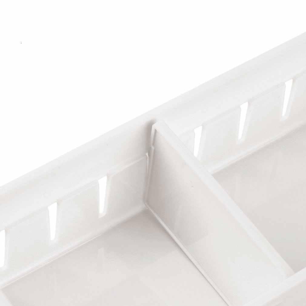 Креативный дизайн, регулируемый органайзер для ящика, домашняя кухонная доска, Бесплатная разделительная коробка для макияжа, коробка для хранения столовой посуды