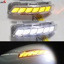 Dynamic Turn Signal Light + Parking +Puddle LED Side Mirror Sequential Indicator For Toyota Land Cruiser LC200 FJ200 Prado FJ150