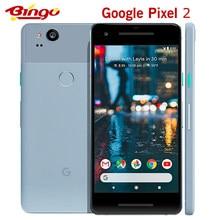 Original Entsperrt Google Pixel 2 5.0 ''zoll Octa Core Einzelne sim 4G LTE Android handy 4GB RAM 64GB ROM smartphone