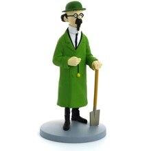 Moulinsart – figurine Tintin tornessol à collectionner, jouet d'action, Collection de figurines Brinquedos, modèle cadeau