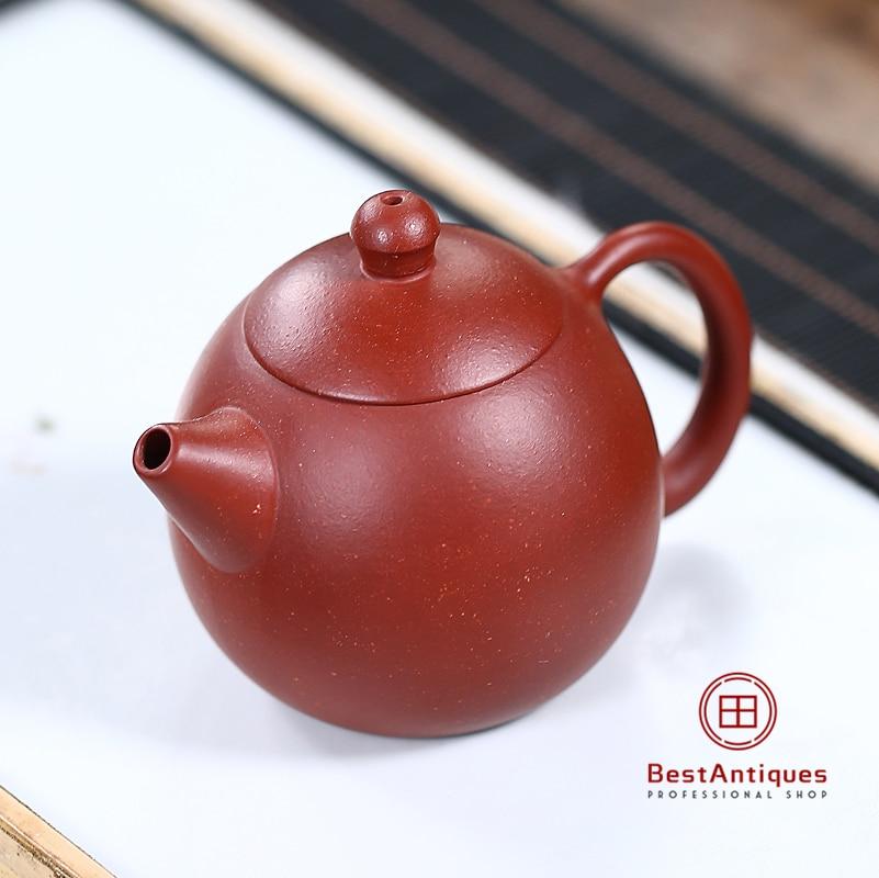 Yixing Zisha Teapot Purple Clay Teapots Handmade Dahongpao Longdan 130cc