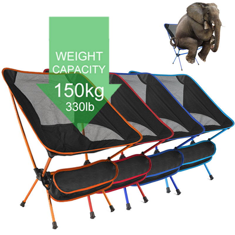 Folding Chair Seat Fishing-Tools Ultralight Travel Picnic Outdoor Portable Beach High-Quality