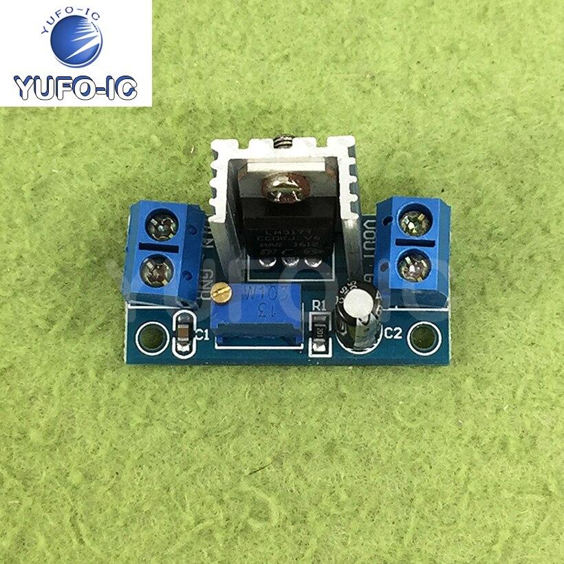 Бесплатная доставка 5 шт. LM317 регулируемый стабилизатор напряжения плата питания DC DC преобразователи постоянного тока понижающий модуль|Интегральные схемы|   | АлиЭкспресс