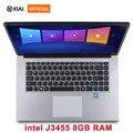 KUU Notebook Computer 15,6 zoll 8GB RAM 256GB/512GB SSD intel J3455 Quad Core Laptops Mit FHD Display Ultrabook WiFi