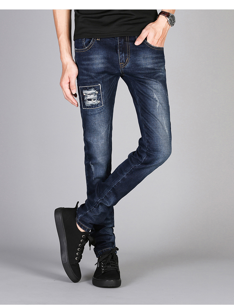 KSTUN Mens Jeans Famous Brand Blue Stretch Distressed Frayed Hiphop Streetwear 2019 Autumn RIpped Jeans Man Casaul Pants Homme 11