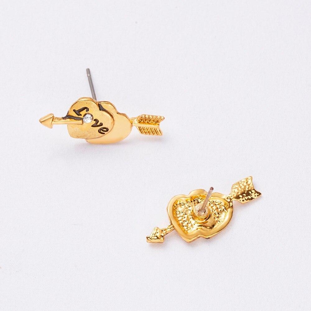 12 Pairs/set Stud Earrings Set With Card Transparent Zircon Balls Love Flowers Earrings Women Imulated Pearl Earrings Jewelry 98