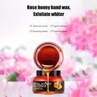 Розовая эссенция медовый увлажняющий ручной воск нежная кожа отрывной маска увлажняющий продукт для рук