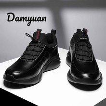 Damyuan Leather Men's Casual Shoes Tenis Masculino Adulto Li