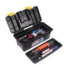 WINOMO 1 Set Of Electric Soldering Iron Kit Screwdriver Tweezers Tin Wire Desoldering Welding Repair Tools With EU Plug