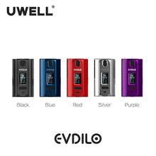 UWELL Evdilo Mod 200W support 18650/20700/21700 batteries Valyrian II Tank E-cigarette Vape Mod wismec reuleaux rx2 21700 230w tc mod 8000mah with dual 21700 batteries battery balance charge system upgradeable firmware vape