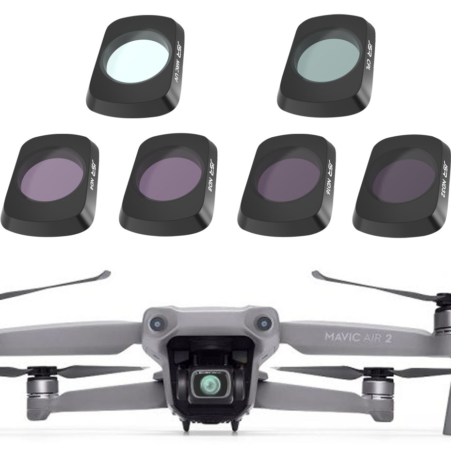 Done Filter For DJI Mavic Air 2 Filters Neutral Density Polar For DJI Mavic Air 2 Camera Accessories UV+CPL+ND4/8/16/32 NDPL Set