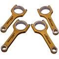 4 шт. 138,5 мм шатуны для peugeot 207 RC 308 1,6 T EP6DTS для MINI Cooper S 1,6 T EP6DTS/EP6CDTS H луч штанги