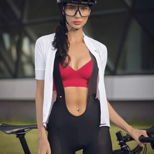 Santic Women Cycling-Bib Shorts Breathable Quick Dry Soft Shockproof New MTB Outdoor Sports Bicycle Bib Pants Cycling Bib Shorts
