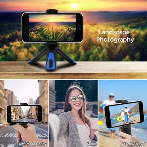 Image 5 - XILETU 360 Rotation Vertical Shooting 2 in 1 Mini Tripod Phone Mount Holder for iPhone Max Xs X 8 7 Plus Samsung S8 S9 Piexl 2 3