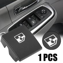 1pc Black Plastic Window Switch Button Cover 13228881 6240452 Replacement For VAUXHALL OPEL ASTRA MK5 H ZAFIRA/TIGRA B