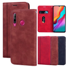 Leather Case Voor Infinix Hot 7 8 9 Note 6 7 S4 S5 Nul 6 Lite Pro Smart 2 3 plus Telefoon Magnetische Cover Wallet Flip Case Protector(China)
