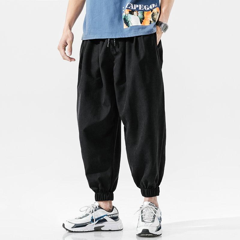 Уличная Для мужчин для бега, размер s, Штаны грузовой Штаны мужские джоггеры 2021 осень Повседневное Штаны Для мужчин's брюки на шнурке впитыва...
