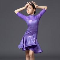 New Latin Dance Costume Competition Dress For Dancing Salsa/Ballroom/Tango/Cha Cha Baby Girl Stage Performance Wear DQS2755