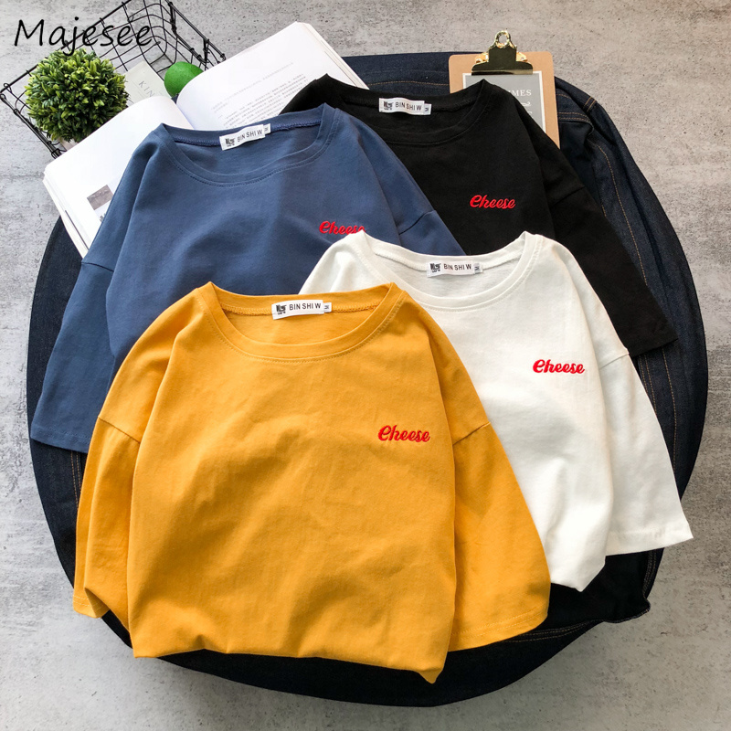 T-shirts Men O-Neck Simple Loose Leisure Korean Style Simple All-match Short Sleeves Ulzzang T-shirt Mens Trendy Soft Daily Tops