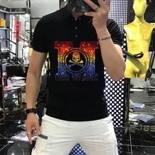 Polo Camiseta Manga Corta,Camiseta Ajustada Transpirable Con Estampado De Mariposa Para Hombre Tenis Camiseta Para Oficina Ropa Para Hombre Camiseta C/ómoda Que Absorbe La Humedad Golf Punk