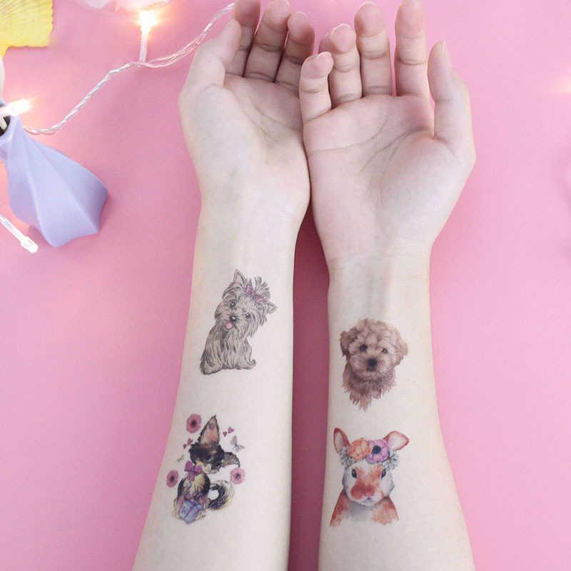 Neue Wasserdichte kinder Tier Tattoo Aufkleber Spielzeug Temporäre Tattoo Aufkleber Umwelt Freundliche Cartoon Aufkleber