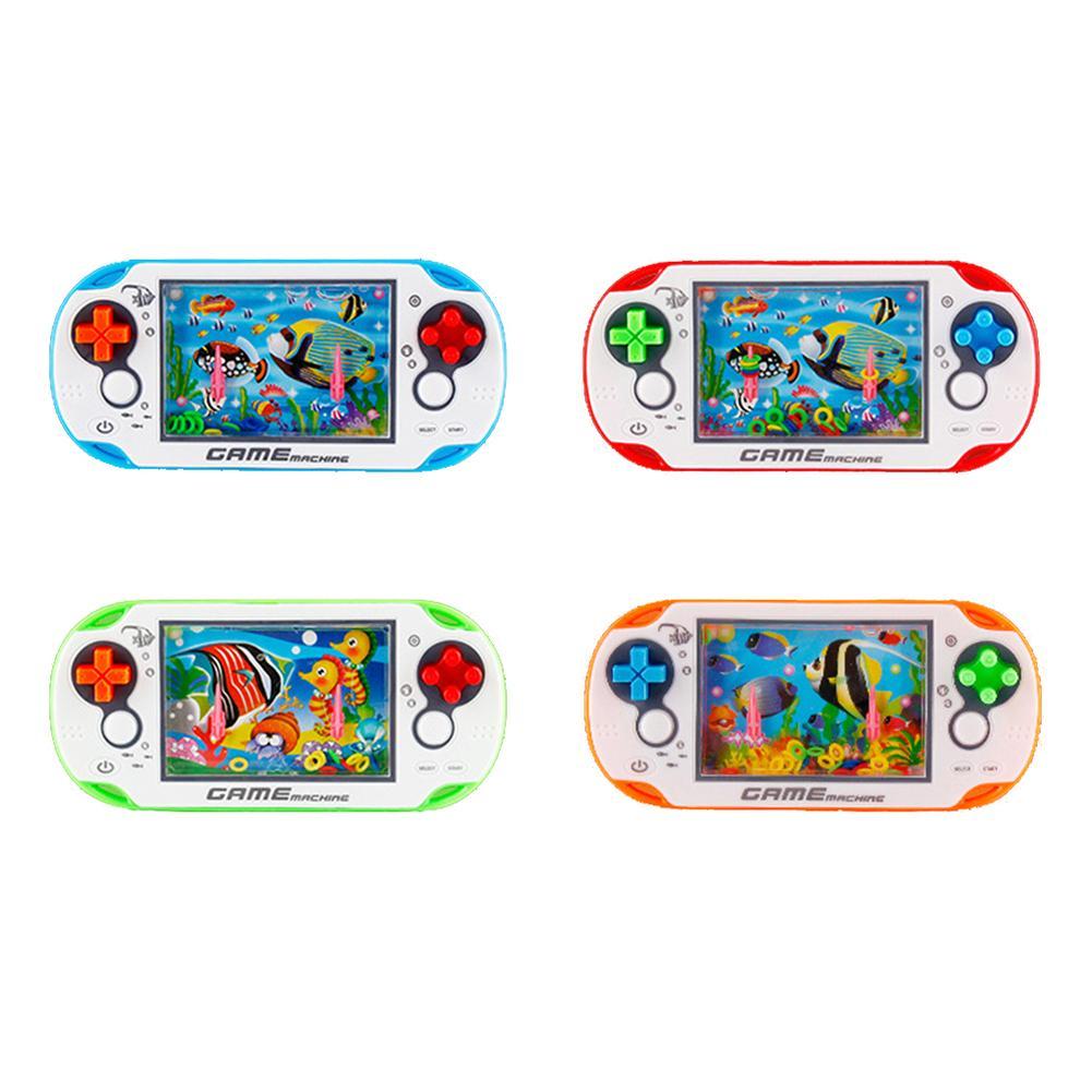Water Ring Machine Nostalgic Childhood Children's Retro Toy Game Machine Circling Game Machine Ferrule Game Classic Toy In Stock