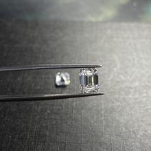 6 cts Emerald Cut wzrost jakości 10*12mm VVS1 Lab utworzono moissanite doskonały oszlifowany diament kamień moda kolczyk pierścień DIY tanie tanio meisidian GDTC Diament D Kolor Grzywny GRA****** Diamond Excellent Emerald kształt 6carat