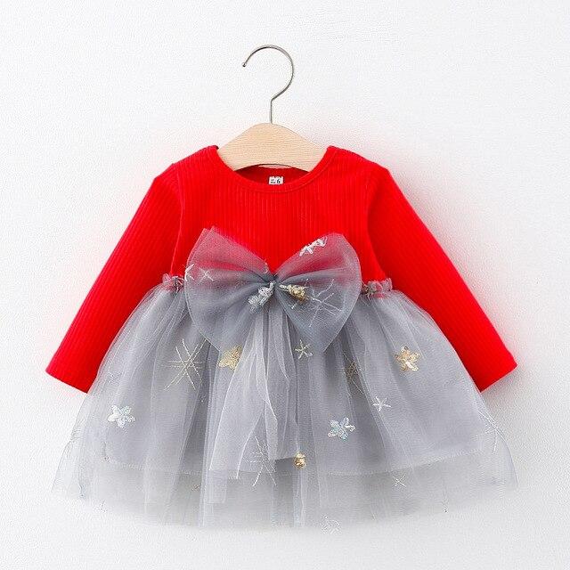 Girls A-Line Autumn Dress 6