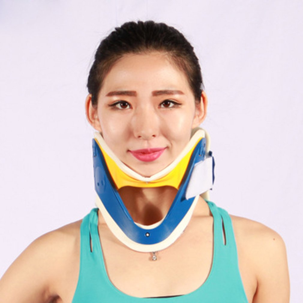 Breathable Neck Brace Medical Cervical Collar Neck Support Immobilizer Neck Pain Relief Neck Tractor Orthosis Braces New Selling