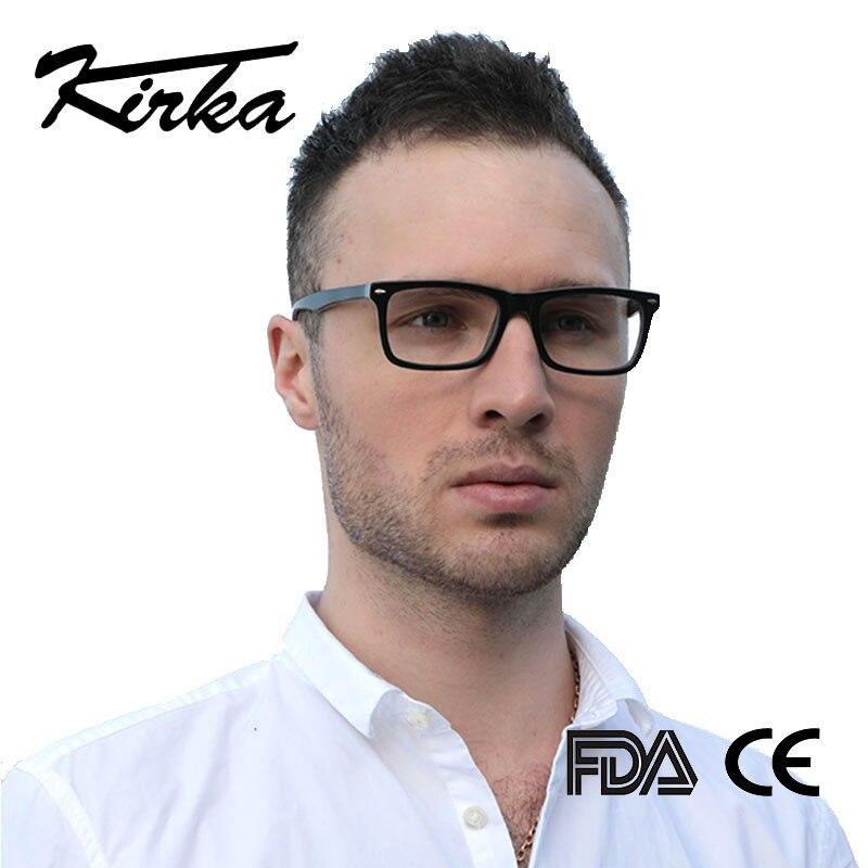 Image 2 - Kirka Men Glasses Frame Retro Designer Myopia Brand Optical Clear Lens Eyeglasses Men Glasses Frame for Menframes for menoptical frames for mendesigner optical frames -