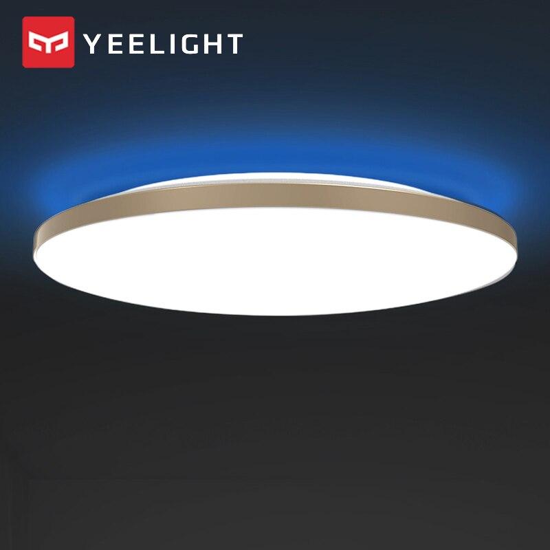 Xiaomi mijia YEELIGHT 50W Smart LED Decke Lichter Bunte Umgebungs Licht Homekit Mijia APP Control AC 220V Für wohnzimmer