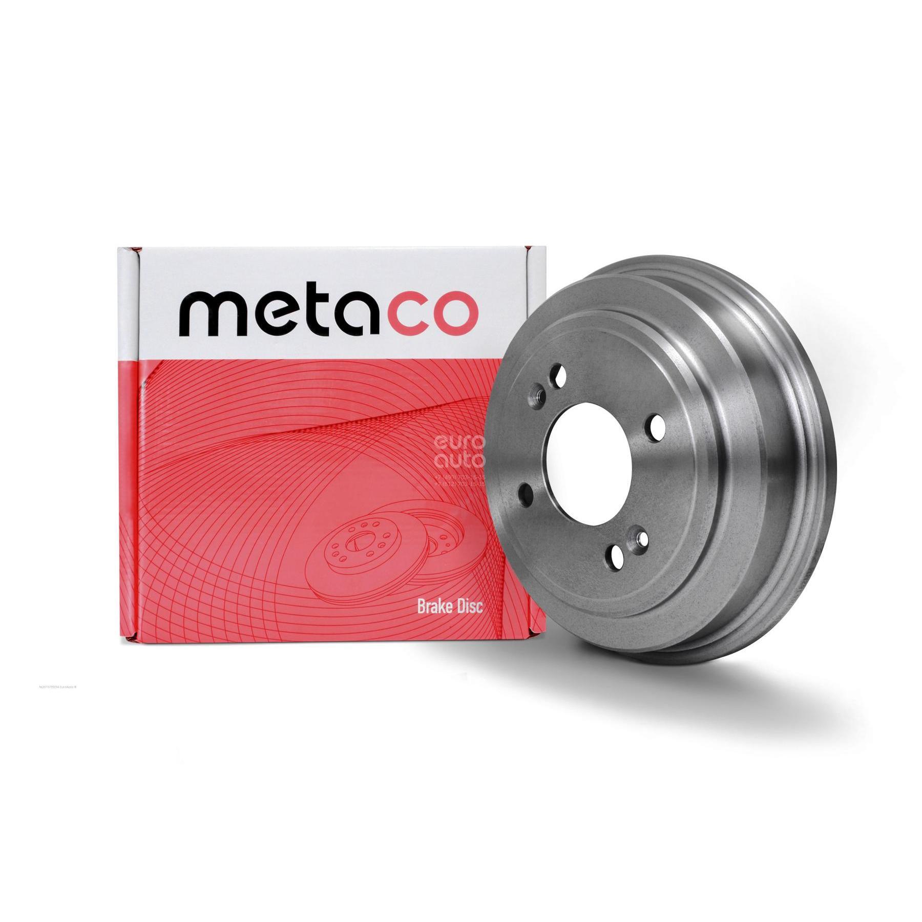 Metaco Барабан тормозной 3070-052 для авто без ABS