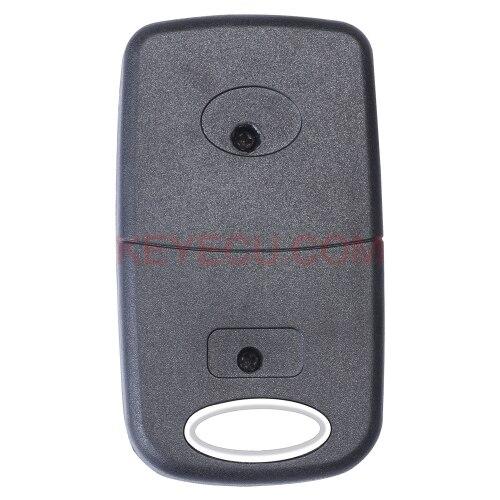 HYQ12BBT Folding Flip Remote key Fob for Lexus EX330 RX330 2004 2005 2006 2007