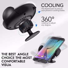 Qi Wireless Charger Car Air Vent Mount Phone Holder Bracket For Mobile Chargers