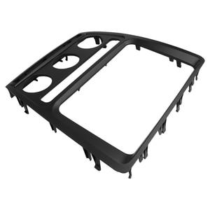 Image 3 - Fascia de Radio para Skoda Octavia con Auto A/C reproductor de DVD 2 Din, Kit de Panel estéreo, de instalación de embellecedor, marco de placa