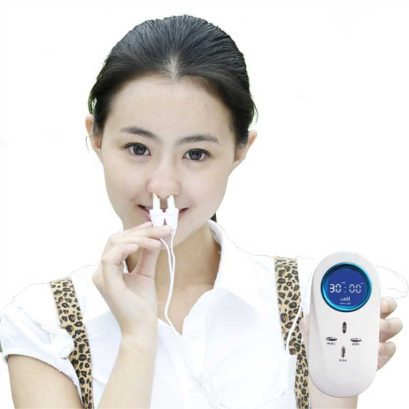 Laser rhinitis treatment device with smart design
