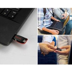 Image 5 - 新しいサンディスク USB フラッシュ 8 ギガバイト 16 ギガバイト 32 ギガバイト 64 ギガバイト 128 ギガバイト CZ50 クルーザーブレイドミニ Cle USB 2.0 スティックジャンプドライブディスクペンドライブ 32 ギガバイト