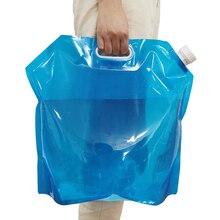 1 pçs 10l saco de água do carro manutenção do carro peças de automóvel de vidro portátil saco de água ao ar livre balde carro decoração grande