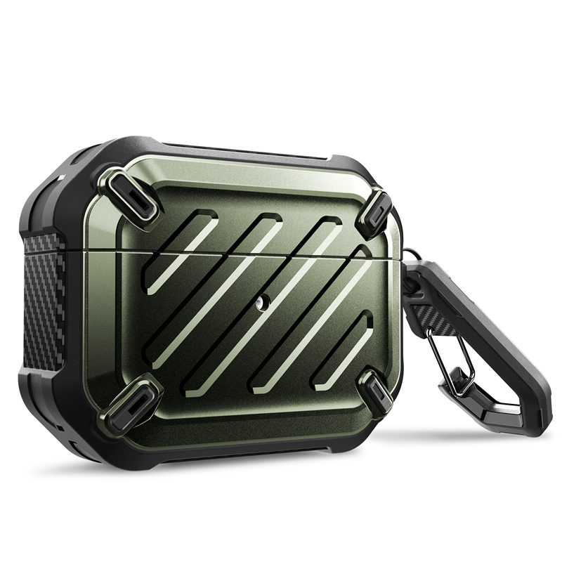 For Airpods Pro Case 2019 SUPCASE UB Pro Full Body Rugged Protective Cover with Carabiner For Apple Airpods Pro (2019 Release)Earphone Accessories   -