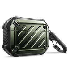 For Airpods Pro Case 2019 SUPCASE UB Pro Full Body Rugged Protective Cover with Carabiner For Apple Airpods Pro (2019 Release)