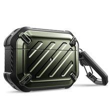 Voor Airpods Pro Case 2019 Supcase Ub Pro Full Body Robuuste Beschermende Cover Met Karabijnhaak Voor Apple Airpods Pro (2019 Release)