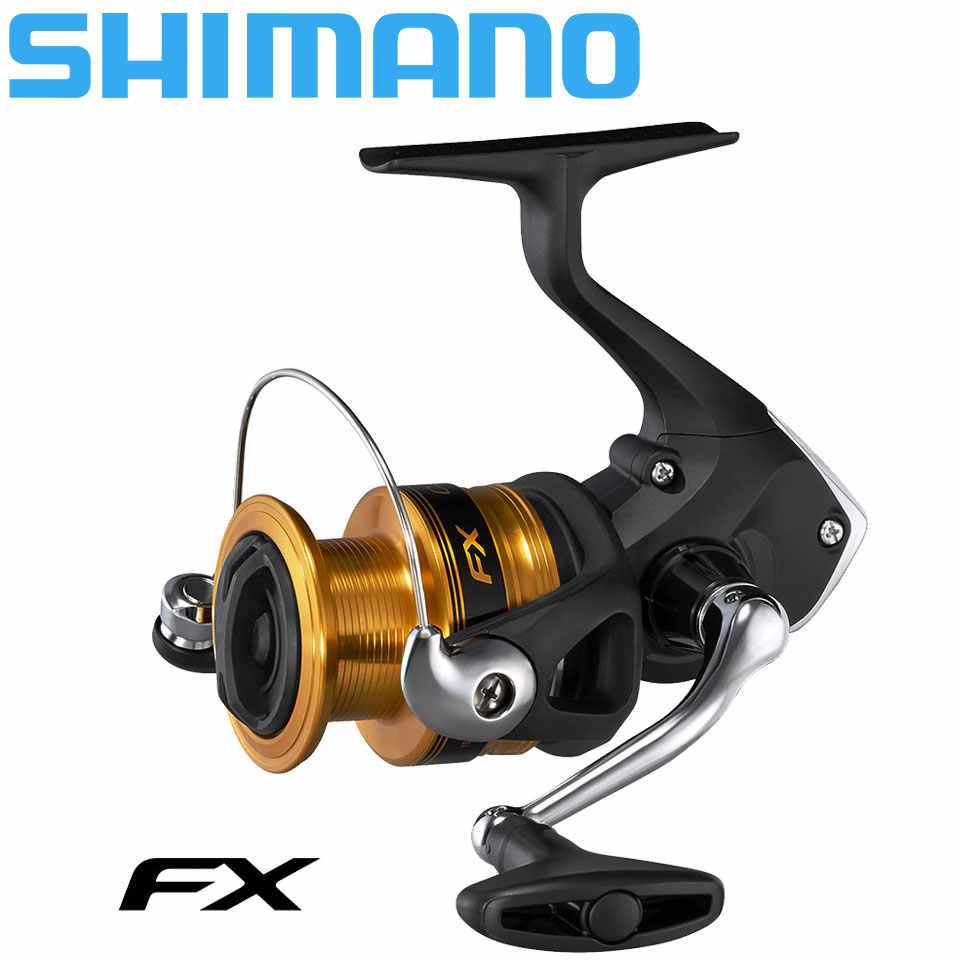 Shimano molinete de pesca com fiação fx, carretilha de pesca com cabo substituto, fiação longa