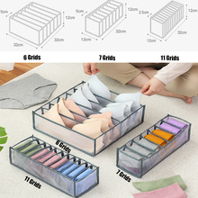 Bra Storage Box Portable Socks Tie Storage Rack Drawer Divider Underwear Organizer Space-saving Bedroom Storage Appliances