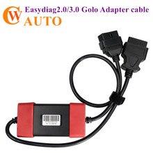 24V ~ 12V 어댑터 출시 X431 Easydiag2.0/3.0 Golo Carcare 용 헤비 듀티 트럭 디젤 어댑터 케이블 출시