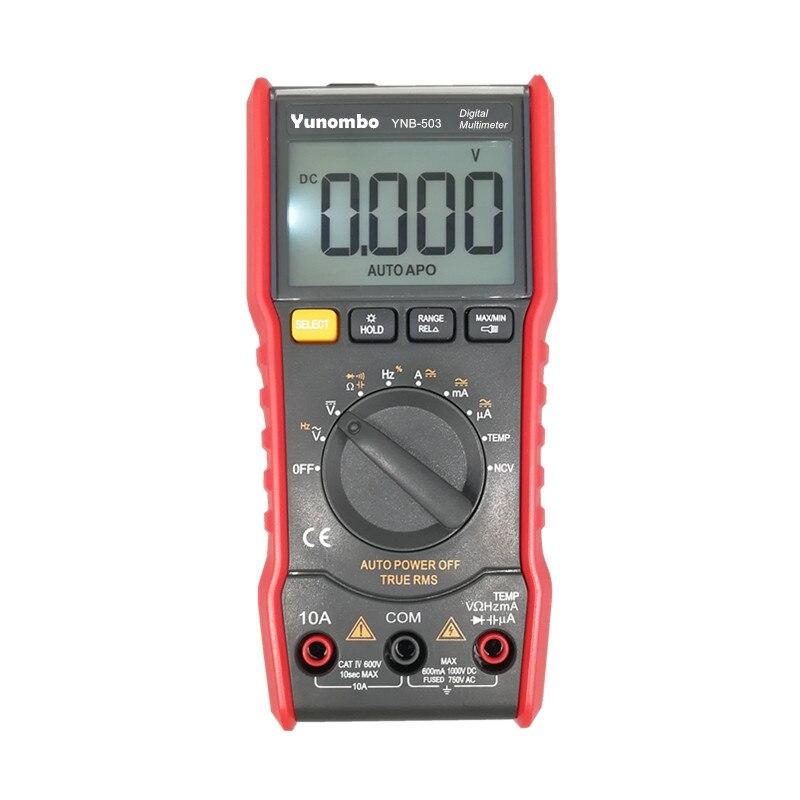 Auto Ranging AC DC medidor de tensão